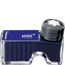 Montblanc Ink Bottle Permanent Blue 107756 - $27.99