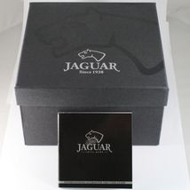 JAGUAR WATCH, SWISS MADE, SAPPHIRE CRYSTAL, 44 MM CASE, BEIGE, BROWN WITH DATE image 7