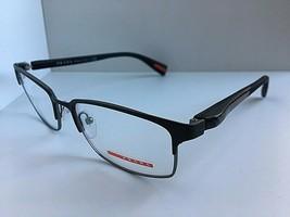 New PRADA VPS 50F UBY-1O1 Matte Gunmetal 54mm Men Eyeglasses Frame Italy - $149.99