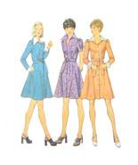 Vintage Simplicity Sewing Pattern 6554 Junior Petite Flared Shirtdress 7... - $6.95