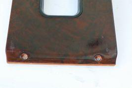 86-89 Mercedes 107 560SL Shifter Surround Trim Bezel Wood Wooden image 10