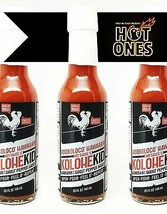 Adoboloco Hot Sauce Kolohekid Hawaiian Spicy Sauce (3-Pack) Hot Ghost Pe... - $35.52