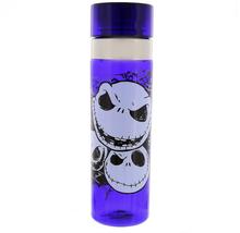 Disney Parks Water Bottle Jack Skellington Faces of Jack Purple Travel Tumbler - $26.68