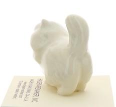 Hagen-Renaker Miniature Ceramic Cat Figurine Fat White Persian image 4
