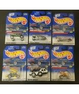 Lot of 6 Hot Wheels -1998 Collector cars  - NEW on cards - $9.79