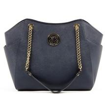 Blue ONE SIZE Michael Kors Womens Handbag JET SET TRAVEL 35T5GTVT3L NAVY - $340.27