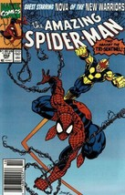 The Amazing Spider-Man #352 Newsstand Cover (1963-1998) Marvel Comics - $7.69