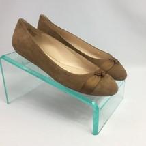 Nine West Benna Ballet Flats 7.5 M Camel in Box Womens Shoes - €34,53 EUR