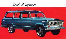 1967 Jeep Wagoneer - Promotional Advertising Poster - $9.99+