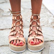 "Gladiator Sandals "" Arizona "", lace sandals, gladiator sandals, genuine leather  - $79.00"