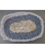 Rag Rug Handmade with recycled clothing TF029/ALS - $10.93