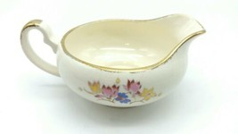 Antique Alfred Meakin Creamer Made in England Floral Gold Trim  709 - $19.99