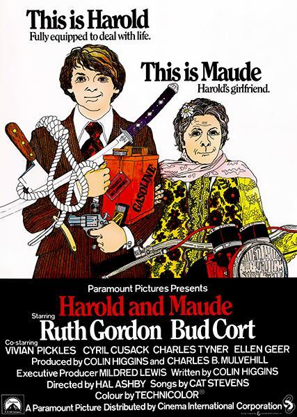 Primary image for Harold And Maude - 1971 - Movie Poster