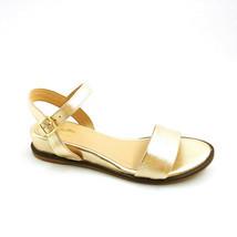Seychelles Womans Boardwalk Ankle Strap Sandals Gold Metallic  Sz 7.5 M NEW - £16.99 GBP
