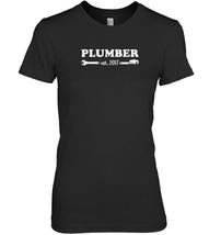 Plumber Est 2017 Gift T Shirt - $19.99+