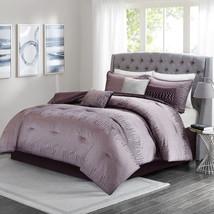 SEALED Madison Park Modern Lights 7-pc Comforter Complete Set - Plum CAL KING - $187.46