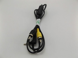 Audio Video Cable 3.5mm Jack to RCA Plug Yellow Black Male to Male 130cm - $2.85