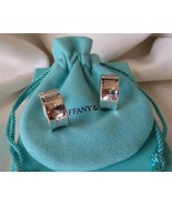 1997 Tiffany & Co. 1837 Sterling Silver Wide Hoop Earrings~13.7g~B & P~$... - $220.00