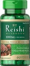 ORGANIC REISHI MUSHROOM 60x500GM GANODERMA LUCIDUM MANY HEALTH BENEFITS - $16.12