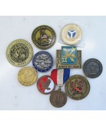Lot of 10 Military Challenge Coin Misc. Units & Branches C2211 - $53.12