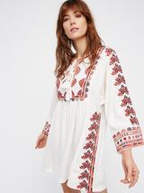 Free People Starlight Mini Dress M Ivory - $80.00