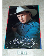 "GARTH BROOKS Country Singer Replica Printed Signature Auto Poster 32"" X 22"" - $24.73"