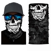 Crazy Cool Skull Winter Face Mask Bandanas Headband Multi Headwear Scarf #4 - $4.94