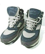 LL Bean Womens Sz 8 M Hiking Boots Prima Loft Insulated Leather Suede Bl... - $23.04