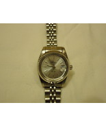 Raton Watch Analog Dress Metal Female Adult Silvers Solid - $15.89