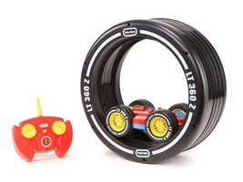 Toy Little Tikes Remote Control Car Tire Twister Kids Back flips 360 deg... - $46.00