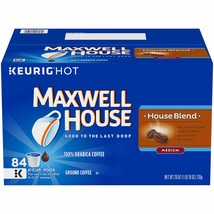 Maxwell House House Blend K-Cup Coffee Pods, 84 ct Box 84 count - $47.41
