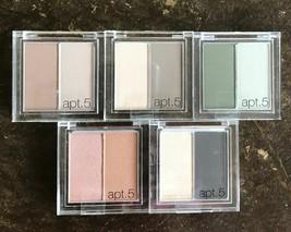 APT. 5 Duo Shadow Eyeshadow Eye Makeup PICK COLOR Neutral Smokey Blue NE... - $4.73
