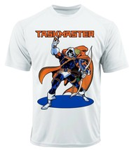 Taskmaster Dri Fit graphic T-shirt microfiber superhero retro comic Sun Shirt image 2