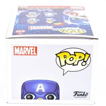Funko Pop! Marvel Christmas Holiday Cap Snowman Captain America #532 Figure image 6