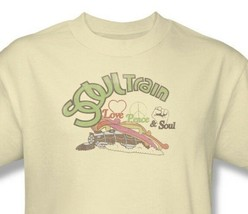 Soul Train T-shirt Free Shipping vintage inspired 1970's disco music cotton tee image 1