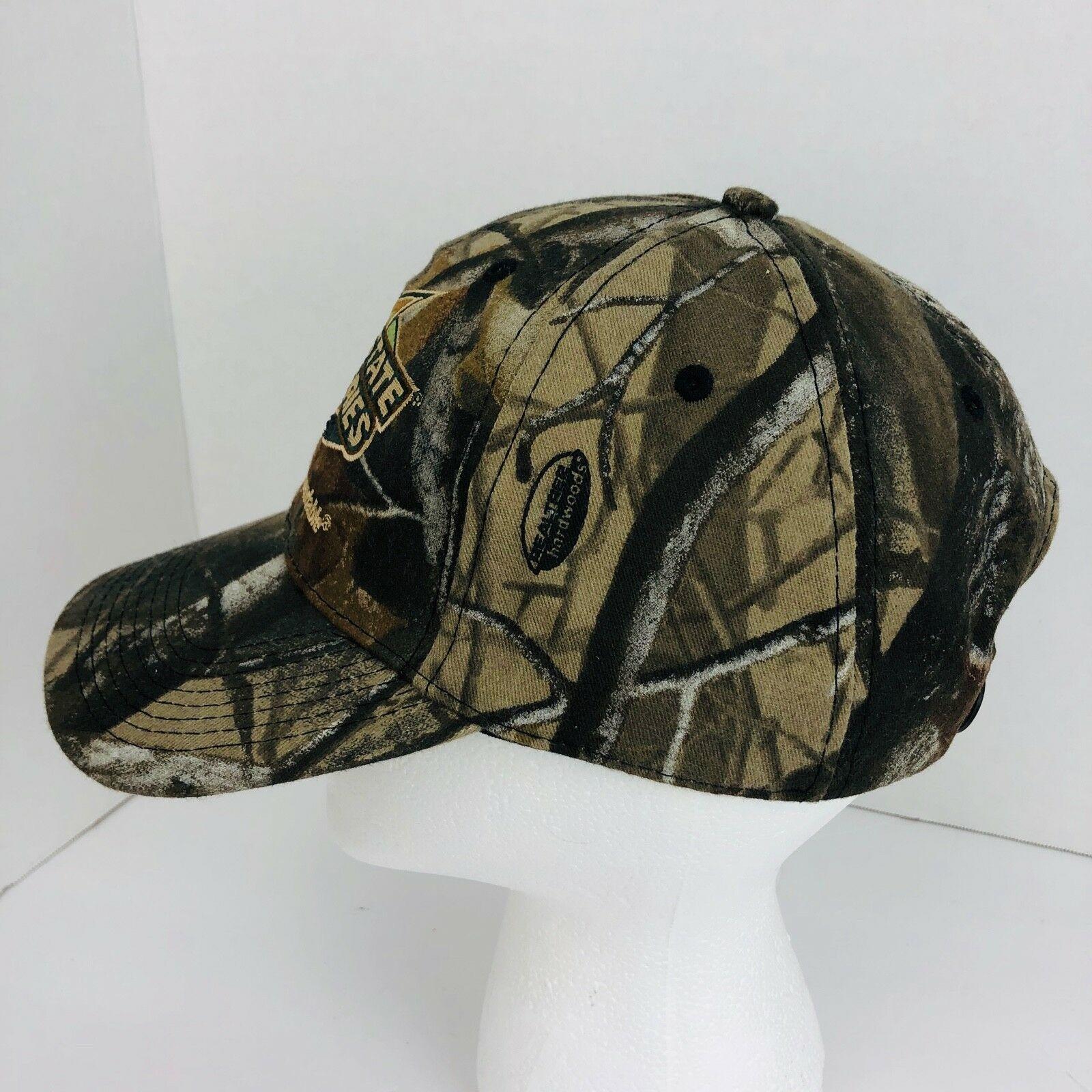 Interstate Batteries Camo Camouflage Realtree Snapback Cap Hat Baseball