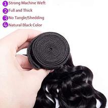 Maxine Brazilian Virgin Hair 1 bundle Water Wave Hair Wet and Wavy Water Weave H image 6