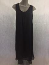 DKNY Donna Karan Pure DKNY 100% Silk Maxi Dress Sleeveless Long Size 4 - $38.25