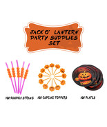 NEW Pumpkin Happy Halloween Party Hocus Pocus Decor Supplies Set bundle - €6,82 EUR