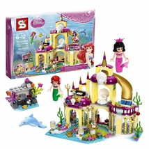 Princess Ariel Palace Disney Little Mermaid 383Pcs - Msg for color box - $28.00
