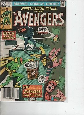 Avengers #35  - September 1981  - Marvel Comics - Pursue the Panther.
