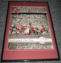 1928 Nebraska vs Pitt Pittsburgh Football Framed 10x14 Poster Official R... - $46.39