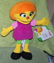 "Playskool Friends Sesame Street JULIA Plush 10""H NWT - $17.50"