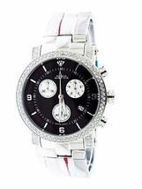 Aqua Master Steel Band 1.75ct 37mm Round Diamonds Watch - $593.99