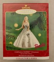 Hallmark Keepsake Ornament Celebration Barbie Special 2001 Edition Holid... - $9.04