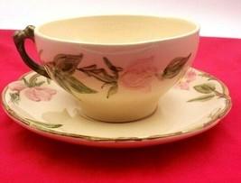 2 Vintage Franciscan Desert Rose Cups & Saucers - $15.00