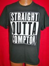 STRAIGHT OUTTA COMPTON Movie T-SHIRT L Rap Hip Hop ICE CUBE EAZY E DR DRE - $24.74