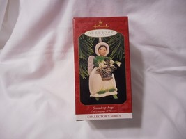 1997 Hallmark Keepsake Ornament Snowdrop Angel The Language of Flowers C... - $1.99