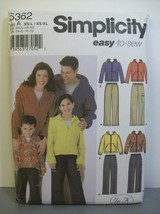 Simplicity Pattern 5362 Sz XS-L Child Teen XS-L... - $11.30