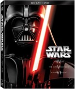 Star Wars Trilogy Episodes IV-VI (Blu-ray + DVD) [Blu-ray] - $33.65